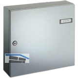 Tür-Durchwurfbriefkasten SERIE 17, 260 x 330 x 100 mm, Stahl RAL 9007