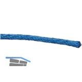 Kunststoffleine Polypropylen spiralgeflochten blau ø  6 mm Rollenlänge 500 m