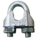 Drahtseilklemme ähnl. DIN 741 verzinkt Seil ø  3 mm