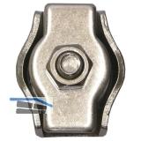 Drahtseilklemmen Simplex 2 mm - Edelstahl A4