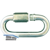 Rapidglied verzinkt Materialstärke 4 mm Breite 11,5 mm Länge 33 mm