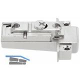 BLUM CLIP Montageplatte zu CLIP top-Zwischenscharnier, H8.5, ZN vern., 175H5A00