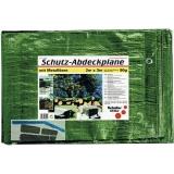 SCHULLER Abdeckplane mit Ösen Farbe grün 90 Gramm  2 x 3 m