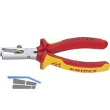 KNIPEX VDE-Abisolierzange mit Öffnungsfeder 5-10 mm² Länge 160 mm