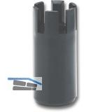Abstützfuß-Verlängerung, erhöht um 50mm, Kunststoff schwarz