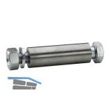 Achszubehör für Rad 100-125 mm/ø 15 auf 8 mm Nabe 45 mm