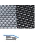 Wasserschutz Einlegematte Aqua-Non, KS silber/Edelstahldekor