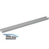 Aluminiumprofil MEC-1 Aufbau, MEC-2 Einbau 3000 mm, eloxiert