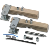 Anschlagwerkzeuge für Stil-Einbohrbänder, Garnitur komplett für ø 11 mm