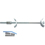 Arbeitsplattenverbinder, L 150 mm, Maß X 75-84 mm, Stahl verzinkt