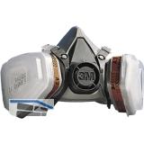 3M Atemschutzmaske 6223M Set Schutzstufe A2P3 mit Ausatemventil