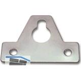 Aufhängeösen, 64 x 46 x 1,5 mm, Stahl verzinkt