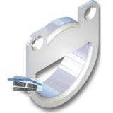 Aufhängeösen zum Einbohren, Bohr ø35, Bohrtiefe 9.5, Stahl verzinkt