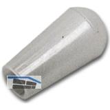 Aufsteckhülse, Innen ø 3 mm, Kunststoff transparent, VPE 100 ST