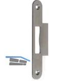Lappenschließblech f. MFV Secury, B = 34,0 mm, Edelstahl