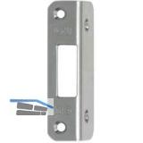 Winkelschließplatte BKS f. Mehrfachverriegelung Secury, universal, Edelstahl