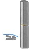 Bandrolle 10 x 40 mm, Bandstift 6 mm, Stahl blank