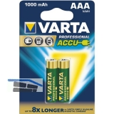 VARTA Batterie Professional Akku HR03/AAA 1,2 V  (2St)