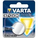 VARTA Batterie Knopfzelle CR 2430 3 Volt (1St)