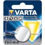VARTA Batterie Knopfzelle CR 2450 3 Volt (1St)