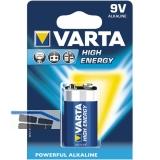 VARTA Batterie High-Energy 6LR61 9V (1 St)