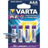 VARTA Batterie Professional Lithium LR03/AAA 1.5V (4St)