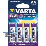 VARTA Batterie Professional Lithium LR6/AA 1.5V (4St)