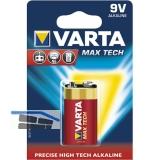 VARTA Batterie Max Tech 9 Volt (1St)