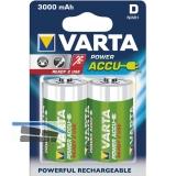 VARTA Batterie Power Akku HR20/D 1.2V 3000 mAh (2 St)