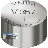 VARTA Batterie Knopfzelle Uhr V 357 1,55 Volt (1St)