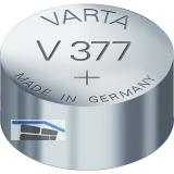 VARTA Batterie Knopfzelle Uhr V 377 1,55 Volt (1St)