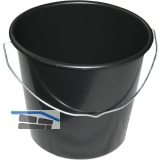 Baueimer PVC Inhalt 12 Liter mit verzinktem Nasenbügel