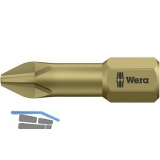 WERA Bit-Einsatz 851/1TH 1/4\sechskant PH 1/25 mm Pillips