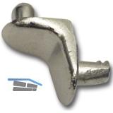 Steckbodenträger FIX 2, Fixierzapfen, Bohr ø 5 mm, Zink vernickelt, VPE 100 ST