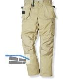 FRISTADS/KANSAS Funktionsbundhose Prostretch 241 PS 25 khaki Gr.46 65%PE 35%BW