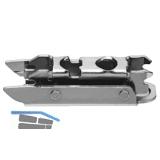 BLUM CLIP Exzenter Montageplatte gerade, Stahl, Spax-Schrauben, Distanz 3 mm