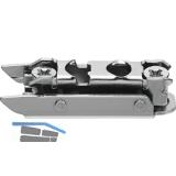 BLUM CLIP Exzenter Montageplatte gerade, Stahl, vorm. Systemschraube, D: 3 mm