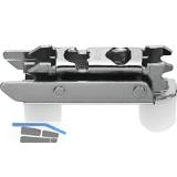 BLUM CLIP Exzenter Montageplatte gerade, Stahl, Einpressen, D: 3 mm