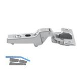 BLUM CLIP Standardscharnier 100°, 9,5mm gekröpft, mit Feder, Schrauben