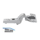 BLUM CLIP Standardscharnier 100°, 18mm gekröpft, mit Feder, Schrauben