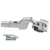 BLUM CLIP top BLUMOTION Standardscharnier 110°, 9,5mm gekröpft, Schrauben