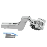 BLUM CLIP top BLUMOTION Standardscharnier 110°, 18mm gekröpft, Schrauben
