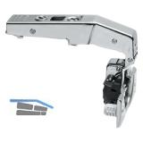 BLUM CLIP top BLUMOTION Stollenscharnier 95°,3mm gekr.,mit Feder,Einpressen