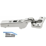 BLUM CLIP top Minischarnier 94°, mit Feder, 9,5mm gekröpft, Schrauben