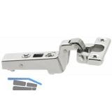 BLUM CLIP top Minischarnier 94°, mit Feder, 18mm gekröpft, Schrauben