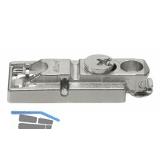 BLUM CLIP Montageplatte gerade, Spax-Schrauben, HV: Exzenter, Distanz 0 mm