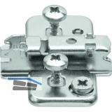 BLUM CLIP Kreuzmontageplatte, EXPANDO für Zwillingsanschlag,Exzenter, D: 3 mm