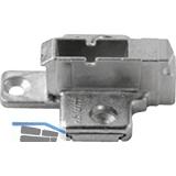 BLUM CLIP Kreuzmontageplatte, Spax-Schrauben, HV: 2-teilig, Distanz 9 mm