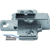 BLUM CLIP Kreuzmontageplatte, Zink, Systemschraube, HV: 2-teilig, Distanz 6 mm