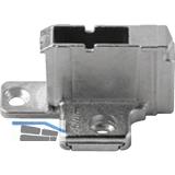 BLUM CLIP Kreuzmontageplatte, Zink, Systemschraube, HV: 2-teilig, Distanz 18 mm